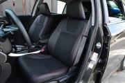 Фото 8 - Чехлы MW Brothers Honda Accord 9 (2013-н.д), красная нить