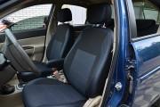 Фото 2 - Чехлы MW Brothers Hyundai Accent Verna (2005-2010), синяя нить