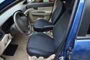 Фото 3 - Чехлы MW Brothers Hyundai Accent Verna (2005-2010), синяя нить
