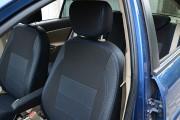 Фото 4 - Чехлы MW Brothers Hyundai Accent Verna (2005-2010), синяя нить