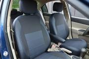 Фото 8 - Чехлы MW Brothers Hyundai Accent Verna (2005-2010), синяя нить