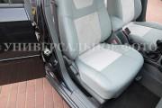 Фото 2 - Чехлы MW Brothers Nissan Leaf I (2010-2018), полностью светло-серые