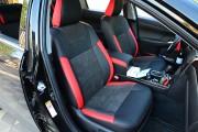 Фото 5 - Чехлы MW Brothers Toyota Camry XV 50/55 (2011-2017), (premium) красные вставки