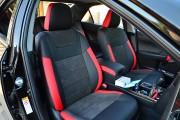 Фото 8 - Чехлы MW Brothers Toyota Camry XV 50/55 (2011-2017), (premium) красные вставки
