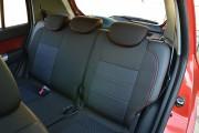 Фото 3 - Чехлы MW Brothers Hyundai Getz (2002-2011), темные + красная нить