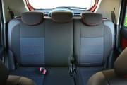 Фото 5 - Чехлы MW Brothers Hyundai Getz (2002-2011), темные + красная нить