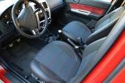 Фото 7 - Чехлы MW Brothers Hyundai Getz (2002-2011), темные + красная нить