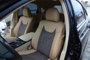Фото 5 - Чехлы MW Brothers Lexus RX350 III (2009-2015), бежевые + серо-коричневая алькантара