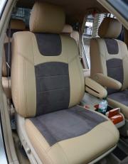 MW Brothers Lexus RX350 II (2003-2009), бежевые + серо-коричневая алькантара