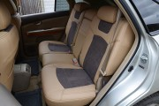 Фото 2 - Чехлы MW Brothers Lexus RX350 II (2003-2009), бежевые + серо-коричневая алькантара