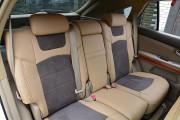 Фото 5 - Чехлы MW Brothers Lexus RX350 II (2003-2009), бежевые + серо-коричневая алькантара