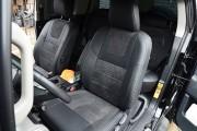 Фото 2 - Чехлы MW Brothers Toyota FJ Cruiser (2006-2014), серая нить