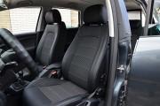 Фото 2 - Чехлы MW Brothers Seat Toledo Mk3 (2005-2009), серая нить