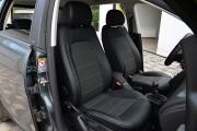 Фото 7 - Чехлы MW Brothers Seat Toledo Mk3 (2005-2009), серая нить