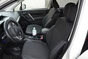 Фото 2 - Чехлы MW Brothers Subaru Forester IV (2013-2018), серая нить