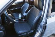 """'ото 2 - """"ехлы MW Brothers Subaru Forester III (2008-2013), сера¤ нить"""