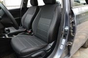 Фото 4 - Чехлы MW Brothers Hyundai Accent V sedan (2017-н.д.), серая нить