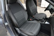 Фото 8 - Чехлы MW Brothers Hyundai Accent V sedan (2017-н.д.), серая нить