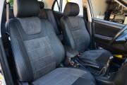 Фото 8 - Чехлы MW Brothers Toyota Corolla (E120) (2000-2006), серая нить