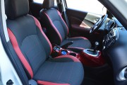 фото 2 - Чехлы MW Brothers Nissan Juke (2011-2019), красные вставки
