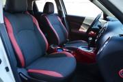 фото 5 - Чехлы MW Brothers Nissan Juke (2011-2019), красные вставки