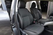 Фото 5 - Чехлы MW Brothers Toyota Auris I (2006-2012), серая нить
