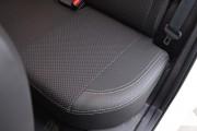 Фото 3 - Чехлы MW Brothers Toyota Auris II (2012-н.д.), серая нить