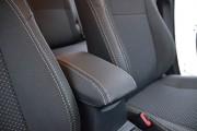 Фото 6 - Чехлы MW Brothers Toyota Auris II (2012-н.д.), серая нить