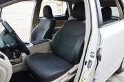 Фото 8 - Чехлы MW Brothers Toyota Prius + (V) (2011-2017), серая нить