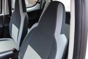 Фото 4 - Чехлы MW Brothers Toyota Aygo I (2005-2014), светлые вставки + серая нить