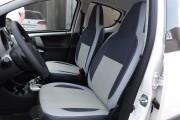 Фото 5 - Чехлы MW Brothers Toyota Aygo I (2005-2014), светлые вставки + серая нить