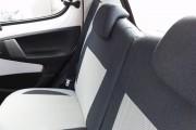 Фото 7 - Чехлы MW Brothers Toyota Aygo I (2005-2014), светлые вставки + серая нить