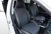 Фото 8 - Чехлы MW Brothers Toyota Corolla (E150) (2007-2013), серая нить