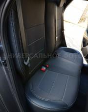 Фото 5 - Чехлы MW Brothers Hyundai i10 I (2007-2014), серая нить