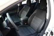 Фото 2 - Чехлы MW Brothers Toyota Corolla (E170) (2013-2018), серая нить