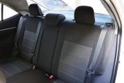 Фото 6 - Чехлы MW Brothers Toyota Corolla (E170) (2013-2018), серая нить