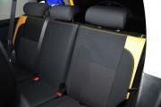 Фото 2 - Чехлы MW Brothers Toyota FJ Cruiser (2006-2014), бежевые вставки + оранж нить