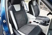 Фото 7 - Чехлы MW Brothers Volkswagen Jetta VII (2018-н.д.), светлые вставки