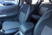 Фото 3 - Чехлы MW Brothers Toyota Hilux VII (2005-2015), серая нить
