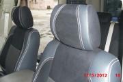 Фото 2 - Чехлы MW Brothers Toyota Land Cruiser Prado 120 (2002-2009), серая нить