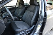 фото 2 - Чехлы MW Brothers Volkswagen Passat B8 USA (2015-н.д.), светлая нить