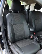 MW Brothers Ford Fiesta Mk7 Sedan USA (2009-2018), светлая нить
