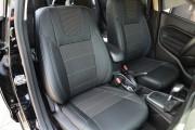 фото 2 - Чехлы MW Brothers Ford Fiesta Mk7 Sedan USA (2009-2018), светлая нить