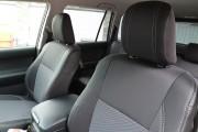 Фото 3 - Чехлы MW Brothers Toyota Land Cruiser Prado 150 (2009-2013), серая нить