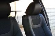 фото 4 - Чехлы MW Brothers Renault Zoe (2012-н.д.), серая нить