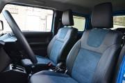 фото 5 - Чехлы MW Brothers Suzuki Jimny IV (2018-н.д.), синяя Алькантара + синяя нить