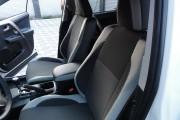 Фото 3 - Чехлы MW Brothers Toyota RAV4 IV (2013-2015), светлые вставки