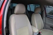 Фото 6 - Чехлы MW Brothers Volkswagen Golf VII Hatchback (2013-н.д.), полностью бежевые + красная нить
