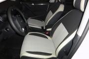 Фото 2 - Чехлы MW Brothers Volkswagen Golf VI хэтчбек (2008-2013), светлые вставки + серая нить