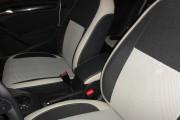 Фото 4 - Чехлы MW Brothers Volkswagen Golf VI хэтчбек (2008-2013), светлые вставки + серая нить